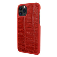 Piel Frama 832 Red Wild Crocodile LuxInlay Leather Case for Apple iPhone 11 Pro