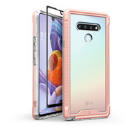 ZIZO ION Series for LG Stylo 6 Case - Military Grade Drop Tested with Tempered Glass Screen Protector - Rose Gold IONC-LGSTL6-RGDCL