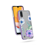 ZIZO DIVINE Series for Galaxy A01 Case - Thin Protective Cover - Lilac DIN-SAMGA01-LIL