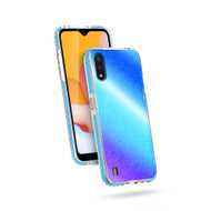 ZIZO DIVINE Series for Galaxy A01 Case - Thin Protective Cover - Prism DIN-SAMGA01-PSM