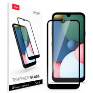 ZIZO TEMPERED GLASS Screen Protector for LG Fortune 3 / LG Aristo 5 / LG Tribute Monarch / LG K31 Case Full Glue Glass with 9H Hardness - Black GLSHD-LGFT3-BLK