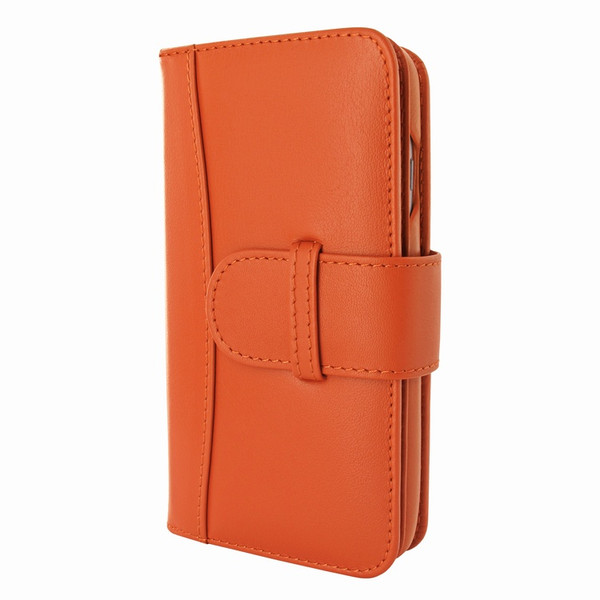 Piel Frama 764 Orange WalletMagnum Leather Case for Apple iPhone 7 / 8