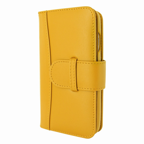 Piel Frama 764 Yellow WalletMagnum Leather Case for Apple iPhone 7 / 8