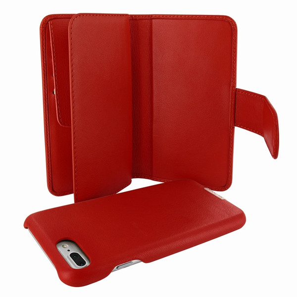 Piel Frama 769 Red WalletMagnum Leather Case for Apple iPhone 7 Plus
