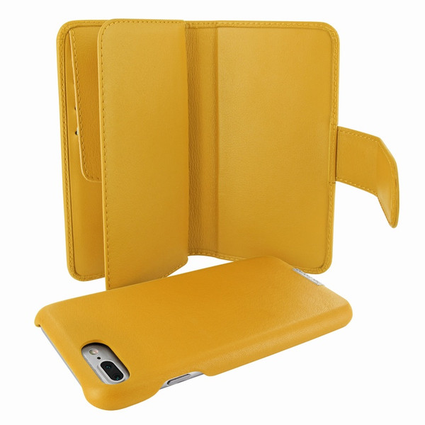 Piel Frama 769 Yellow WalletMagnum Leather Case for Apple iPhone 7 Plus