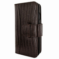 Piel Frama 769 Brown Lizard WalletMagnum Leather Case for Apple iPhone 7 Plus / 8 Plus
