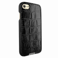 Piel Frama 763 Black Crocodile FramaSlimGrip Leather Case for Apple iPhone 7 / 8