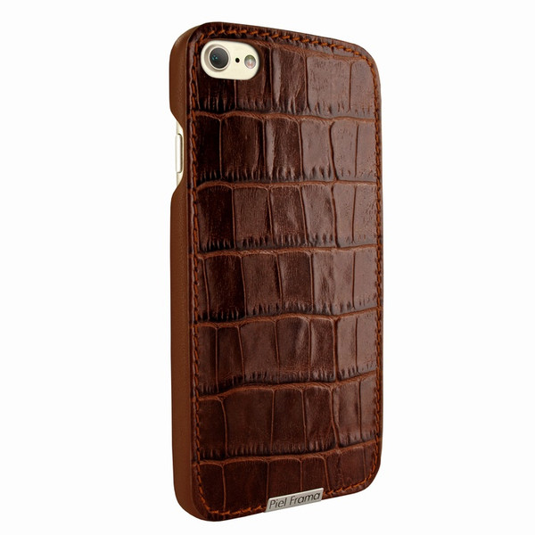 Piel Frama 763 Brown Crocodile FramaSlimGrip Leather Case for Apple iPhone 7 / 8