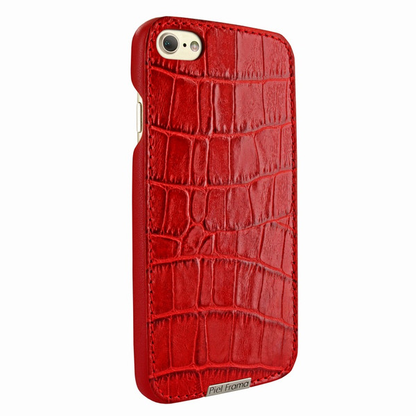 Piel Frama 763 Red Crocodile FramaSlimGrip Leather Case for Apple iPhone 7 / 8