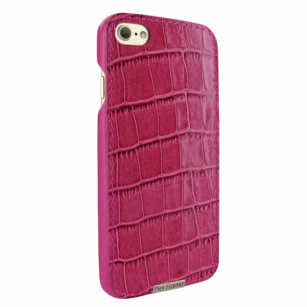 Piel Frama 763 Pink Crocodile FramaSlimGrip Leather Case for Apple iPhone 7 / 8
