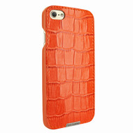 Piel Frama 763 Orange Crocodile FramaSlimGrip Leather Case for Apple iPhone 7 / 8