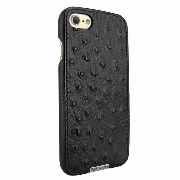 Piel Frama 763 Black Ostrich FramaSlimGrip Leather Case for Apple iPhone 7