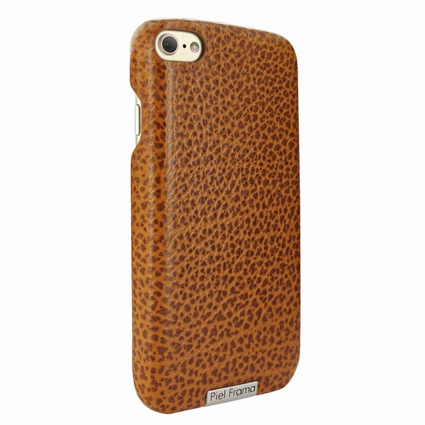 Piel Frama 763 Tan Karabu FramaSlimGrip Leather Case for Apple iPhone 7 / 8