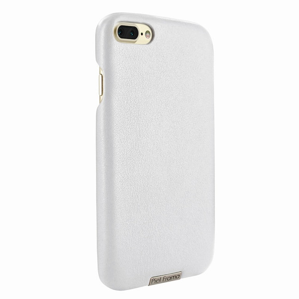 Piel Frama 768 White FramaSlimGrip Leather Case for Apple iPhone 7 Plus / 8 Plus