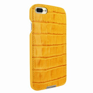 Piel Frama 768 Yellow Crocodile FramaSlimGrip Leather Case for Apple iPhone 7 Plus / 8 Plus