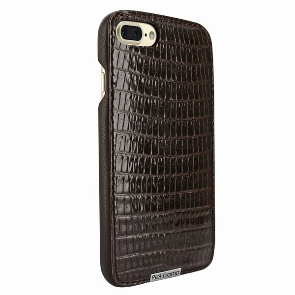 Piel Frama 768 Brown Lizard FramaSlimGrip Leather Case for Apple iPhone 7 Plus / 8 Plus