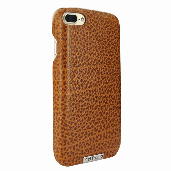 Piel Frama 768 Tan Karabu FramaSlimGrip Leather Case for Apple iPhone 7 Plus / 8 Plus