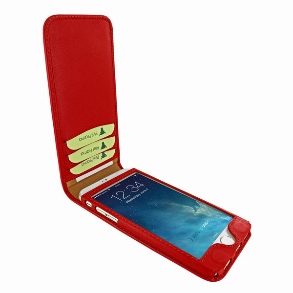 Piel Frama 761 Red Classic Magnetic Leather Case for Apple iPhone 7 / 8