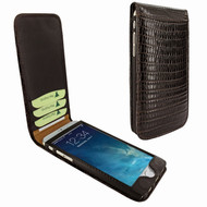 Piel Frama 761 Brown Lizard Classic Magnetic Leather Case for Apple iPhone 7