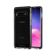 Tech21 - Evo Check Case for Samsung Galaxy S10 Plus - Smokey and Black