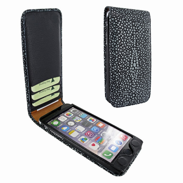 Piel Frama 761 Black Stingray Classic Magnetic Leather Case for Apple iPhone 7 / 8