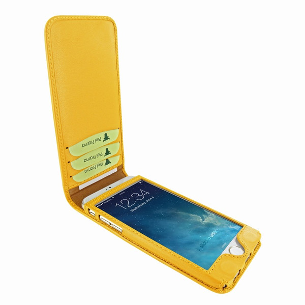 Piel Frama 766 Yellow Classic Magnetic Leather Case for Apple iPhone 7 Plus