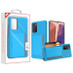 MyBat Poket Hybrid Protector Cover (with Back Film) for Samsung Galaxy Note 20 - Blue / Gray
