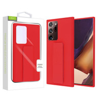 Airium Hybrid Case (with Foldable Stand) for Samsung Galaxy Note 20 Ultra - Red