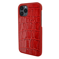 Piel Frama 851 Red Crocodile LuxInlay Leather Case for Apple iPhone 12 / iPhone 12 Pro