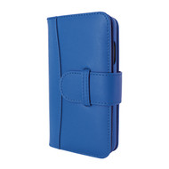 Piel Frama 854 Blue WalletMagnum Leather Case for Apple iPhone 12 / iPhone 12 Pro