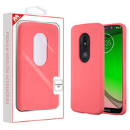 MyBat Eco Case for Motorola Moto G7 Play - Coral Pink