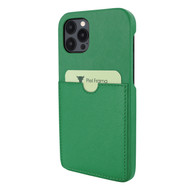 Piel Frama 856 Green FramaSlimGrip Leather Case for Apple iPhone 12 Pro Max