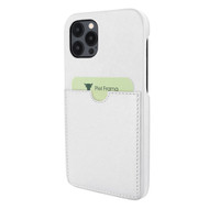 Piel Frama 856 White FramaSlimGrip Leather Case for Apple iPhone 12 Pro Max