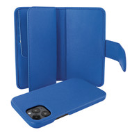 Piel Frama 859 Blue WalletMagnum Leather Case for Apple iPhone 12 Pro Max
