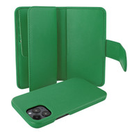 Piel Frama 859 Green WalletMagnum Leather Case for Apple iPhone 12 Pro Max