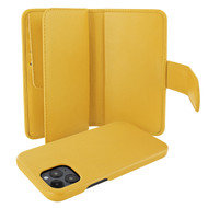 Piel Frama 859 Yellow WalletMagnum Leather Case for Apple iPhone 12 Pro Max