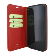 Piel Frama 860 Red FramaSlimCards Leather Case for Apple iPhone 12 Pro Max