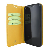 Piel Frama 860 Yellow FramaSlimCards Leather Case for Apple iPhone 12 Pro Max