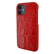 Piel Frama 861 Red Crocodile LuxInlay Leather Case for Apple iPhone 12 mini