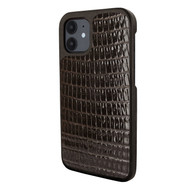 Piel Frama 861 Brown Lizard LuxInlay Leather Case for Apple iPhone 12 mini