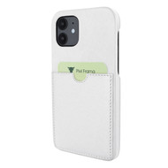 Piel Frama 861 White FramaSlimGrip Leather Case for Apple iPhone 12 mini