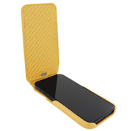 Piel Frama 863 Yellow iMagnum Leather Case for Apple iPhone 12 mini