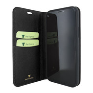 Piel Frama 865 Black FramaSlimCards Leather Case for Apple iPhone 12 mini