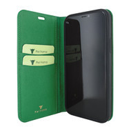 Piel Frama 865 Green FramaSlimCards Leather Case for Apple iPhone 12 mini