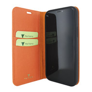 Piel Frama 865 Orange FramaSlimCards Leather Case for Apple iPhone 12 mini