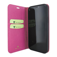 Piel Frama 865 Pink FramaSlimCards Leather Case for Apple iPhone 12 mini