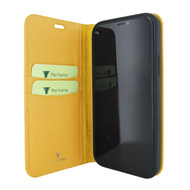 Piel Frama 865 Yellow FramaSlimCards Leather Case for Apple iPhone 12 mini