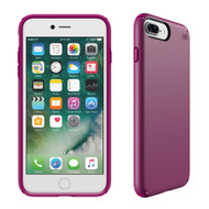Apple iPhone 7 Plus  /  iPhone 8 Plus Speck Products Presidio Case - Syrah Purple And Magenta Pink