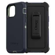 Otterbox - Defender Case for Apple iPhone 12  /  12 Pro - Varsity Blues