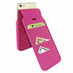 Piel Frama 760 Pink Crocodile iMagnumCards Leather Case for Apple iPhone 7 / 8
